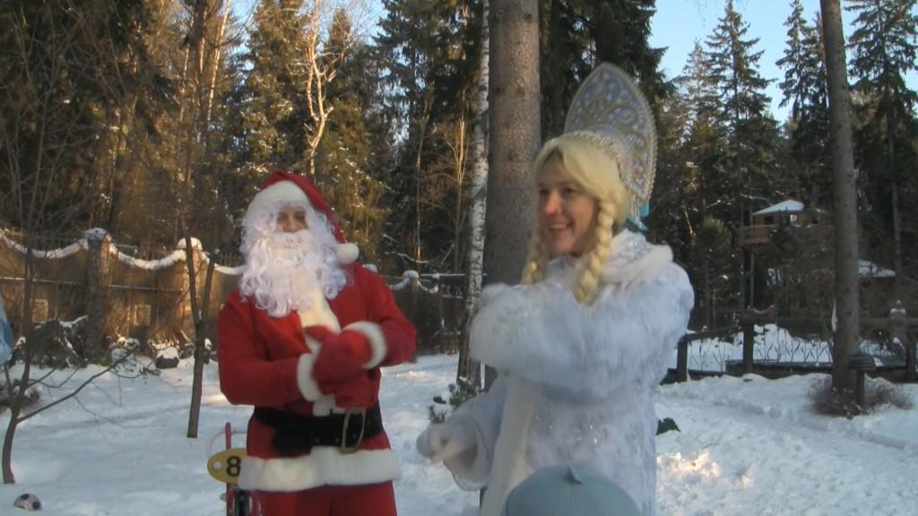 Санта Клаус в Москве