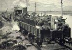 Бронепоездом называли бронированный железнодорожный состав, который предназначался для ведения боевых действий в полосе железной дороги